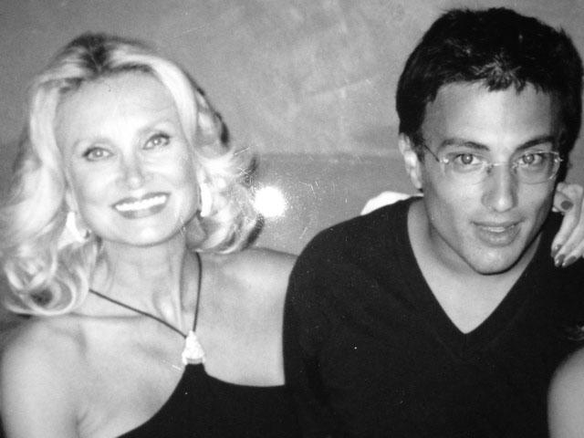 Barbara Bouchet e suo figlio Alessandro Borghese