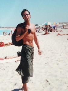 Federica si innamorò di Matteo, mio caro amico da anni, quando vide questa foto nel mio album delle vacanze. Come darle torto?!
