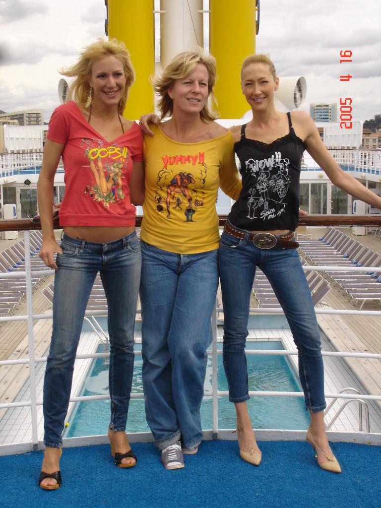 """Una volta eravamo Kris , Barbs e Kris e ora siamo """"le 3 mamme"""". Chi lo avrebbe mai detto quel giorno..."""