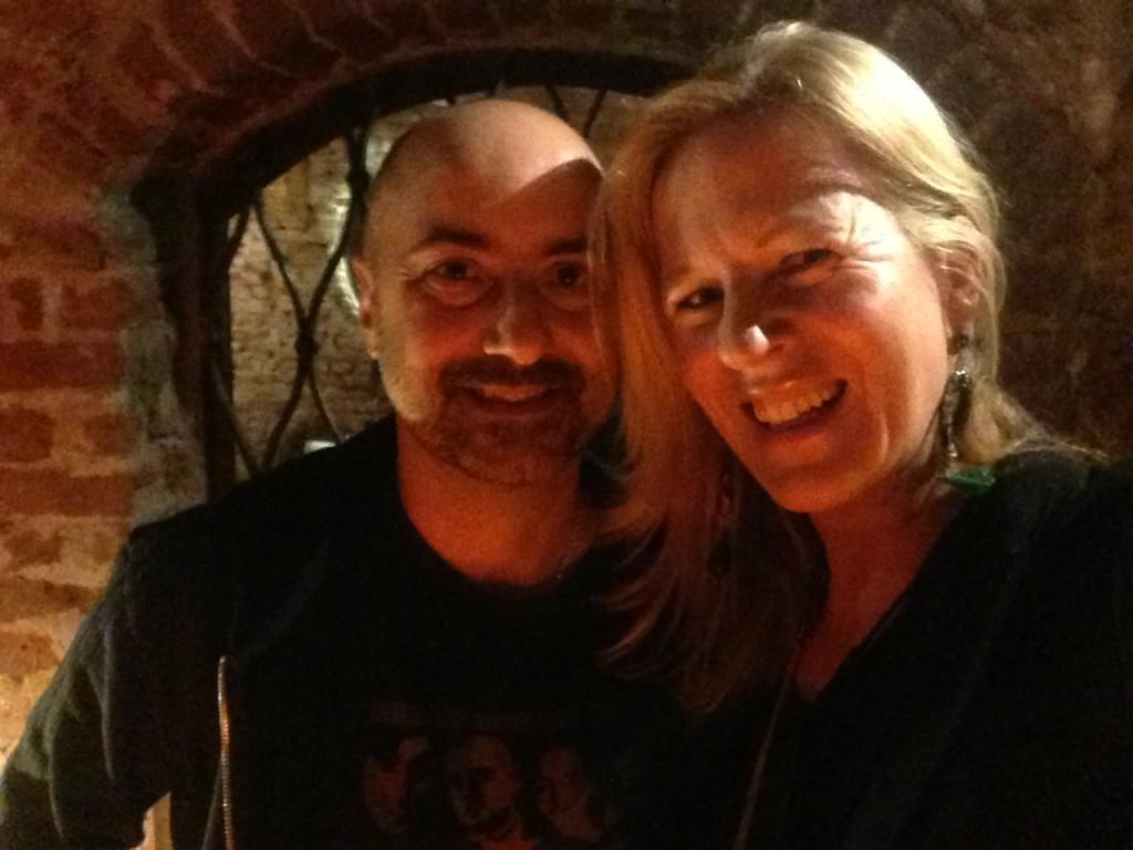 Moi et Andrea Prezioso