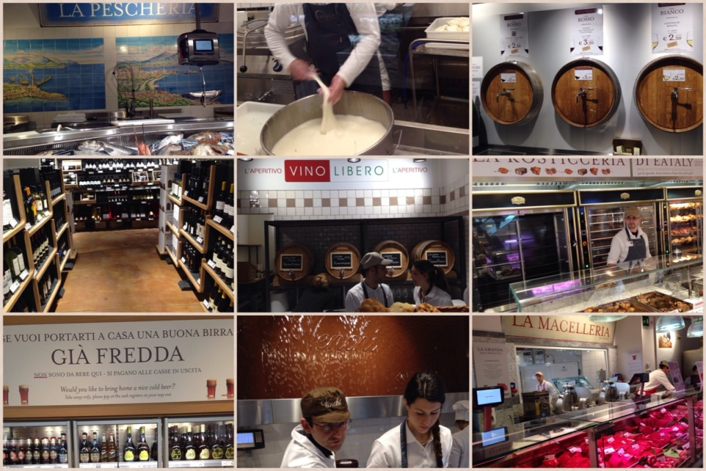 Chicche varie a Eataly